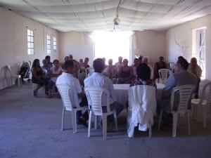 Reunión de microemprendedores en Cucha-Cucha.
