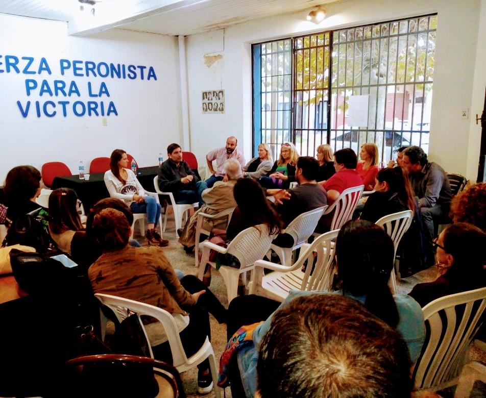 Julieta Garello participó en una charla junto al Dr. Javier Ortega