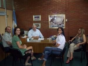 Reunión entre Municipalidad y la UBA.