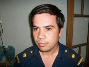 Subcomisario Hernán Reyes.