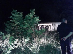 Incendiaron vivienda de anciana en Olascoaga.