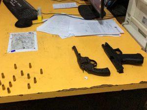Las armas utilizadas por los delincuentes