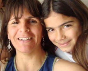 Las víctimas. Nélida Rosana Bustos y su hija Evelyn Gianna Sarmiento.