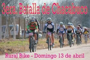 Ciclismo rural 3era. Batalla de Chacabuco.