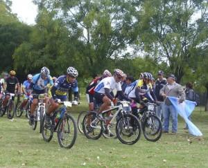 """Tercera edición de rural bike """"Batalla de Chacabuco""""."""
