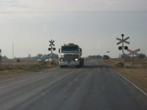 Cruce de vías en rutas provinciales 51 y 42, cercanías dónde asaltaron a mano armada a Rogy Fagan.