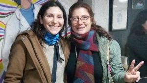 Ruth Williams junto a la Diputada Nacional Mónica Macha