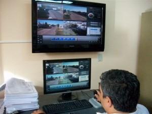 Sala de monitoreo inaugurada por Scioli.