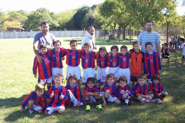 Categoría 2006 del Club San Lorenzo de Rawson.