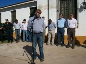 Alberto Santos, Delegado Municipal de Castilla.