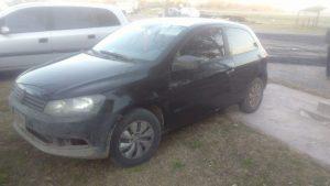 El Gol que se movilizaba Albaracín quedó secuestrado por el delito de robo del automotor.