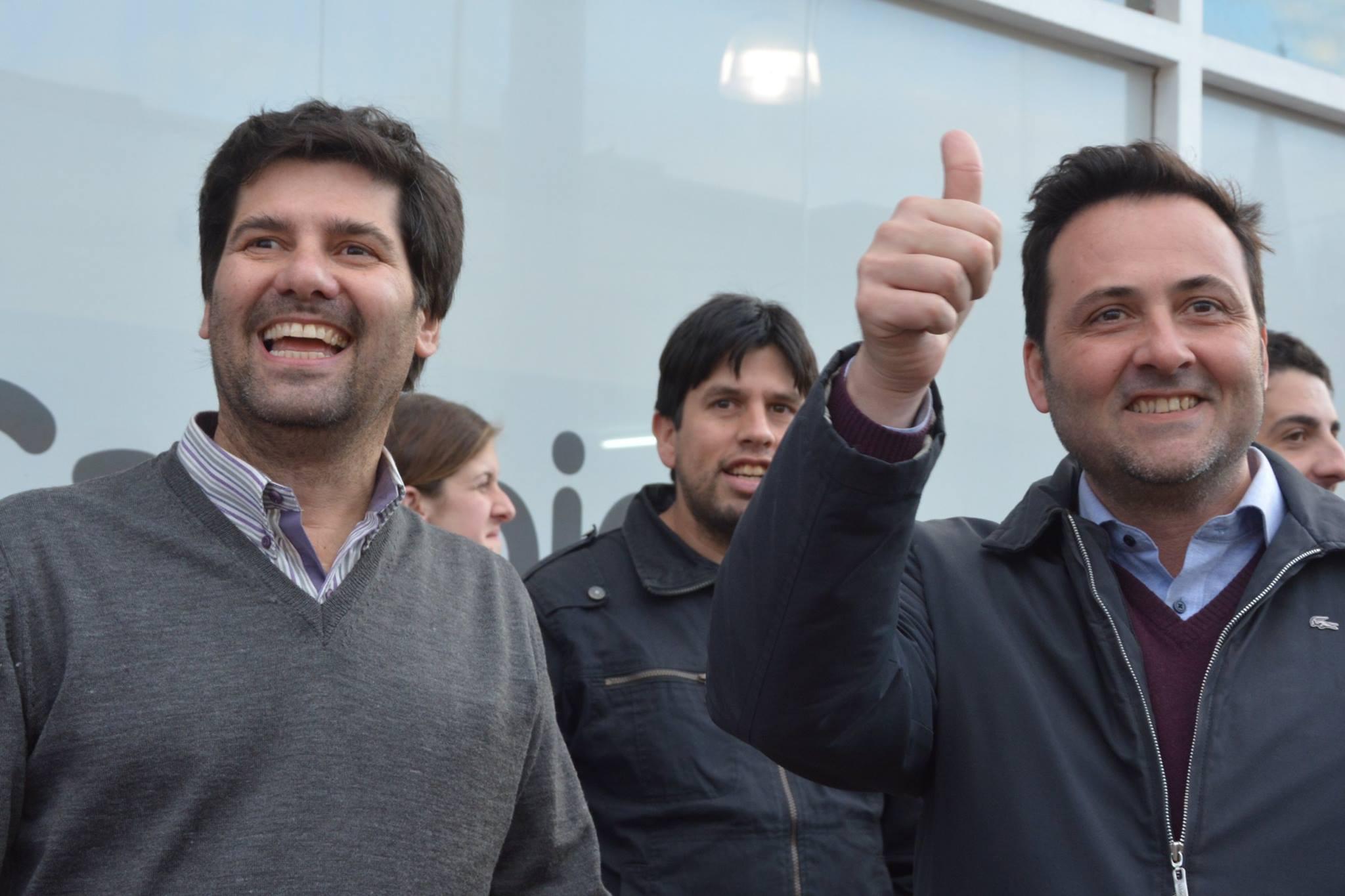 22/10/17- Amplió triunfo del candidato de Cambiemos, Rodolfo Serritella en Rawson.