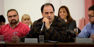 Marcos Merlo, concejal del PJ-FPV