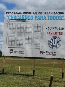 Municipales recibirán sus terrenos.