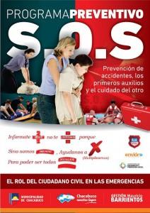 Curso de primeros auxilios en Chacabuco.