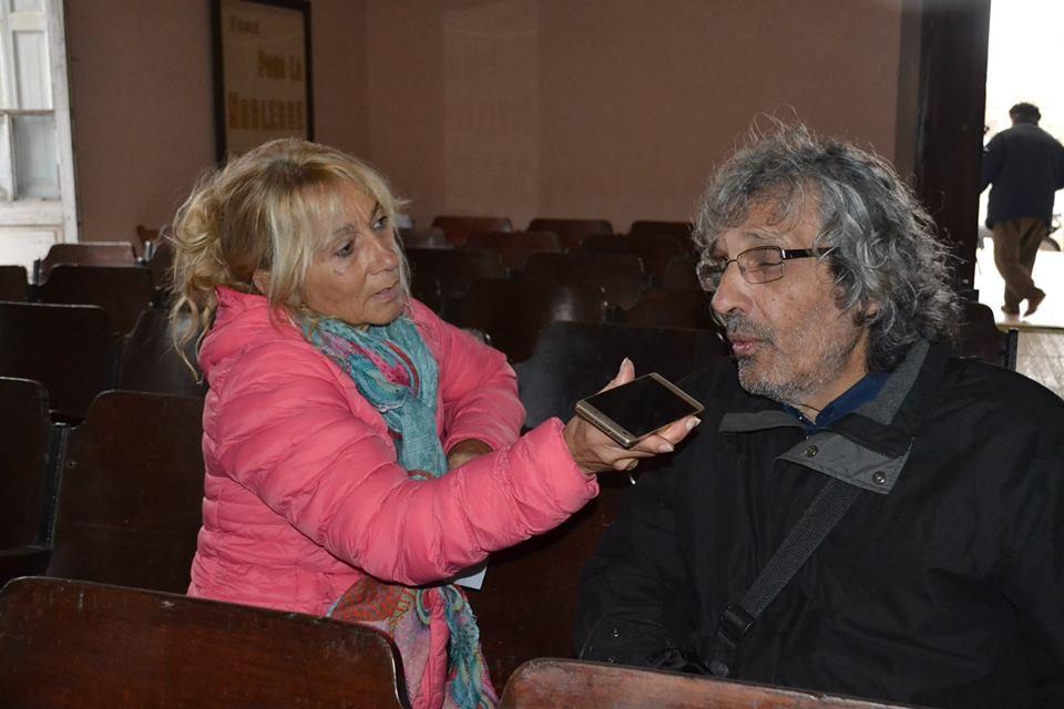 Soule en la entrevista con Mónica del Castillo