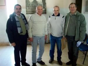 De izquierda a derecha: Rios, Micucci, Chernis y Riesco.