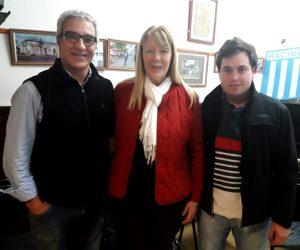 Gargaglione y Petina junto a Stolbizer