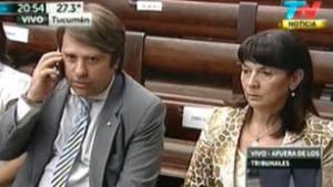 Susana Trimarco en el veredicto.