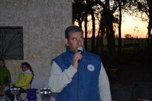Gustavo Lezaun, actual presidente de la Federación Argentina de Pato.