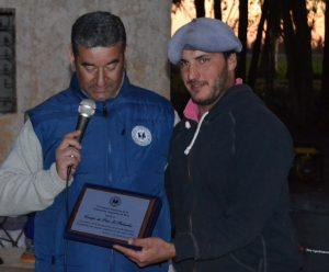 En la imagen, Gustavo Lezaun, presidente de la FAP y Martín Lemme, presidente y jugador de El Relincho de Rawson.