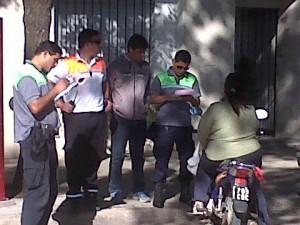 Operativo en Chacabuco.