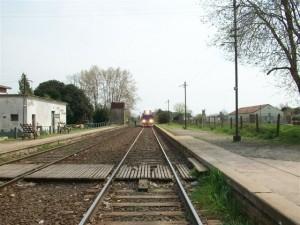 No hay servicio de tren de pasajeros por paro,
