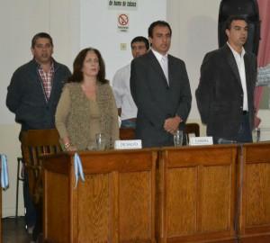 Bloque de Concejales de la UCR. Foto: Noticias Bonaerense.
