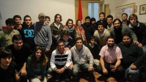 Jóvenes radicales de Chacabuco en encuentro zonal.