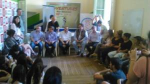 La Juventud de la UCR de Chacabuco en Junín.