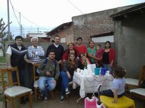 La UCR en el Barrio La Amistad.