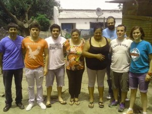 Jóvenes Radicales de Chacabuco en Luján.