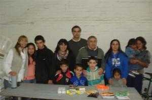 Los concejales Radicales Di Piero y Blaiotta  entregan útiles escolares en Chacabuco.
