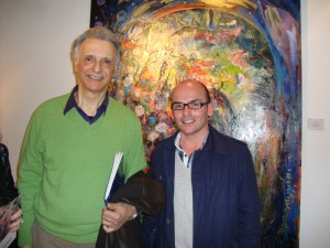 Miguel Ronsino junto a Gustavo J Ventimiglia.