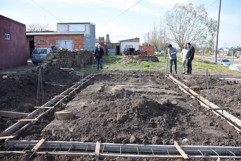 Viviendas Sociales: avanzan las obras para su construcción