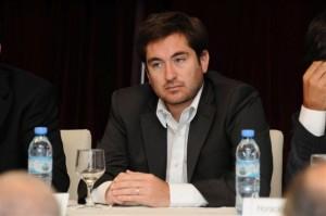 Subdirector ejecutivo de Recaudación y Catastro de Arba, Hernán García Zuñiga.