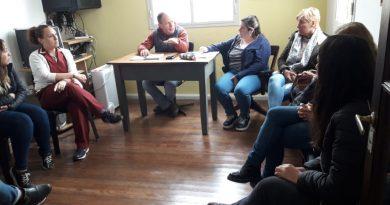 En Castilla se desarrolló la mesa de gestión local en materia de Niñez y Adolescencia.