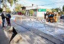 El Intendente recorrió avances de obra del Plan de Bacheo Urbano
