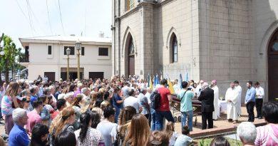 Los restos del padre Ceres descansan en la Parroquia San Isidro Labrador