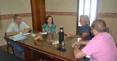 Golía se reunió con el Ingeniero Bressano sobre la situación actual de Inta en Chacabuco