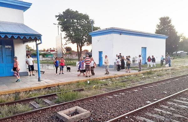 Estación de trenes de Chacabuco