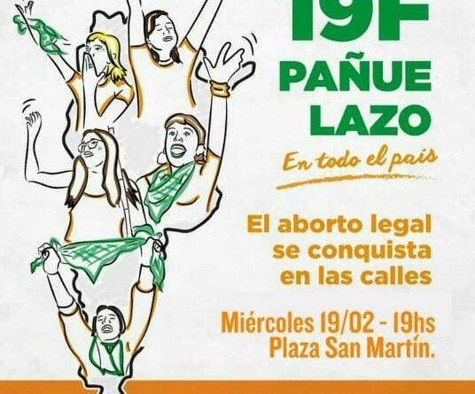 Pañuelazo PDT 19/2 en Chacabuco