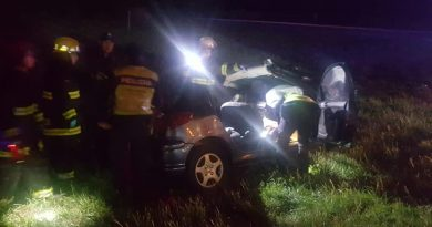 Imagen del accidente. Foto gentileza: Gloria Ubeda