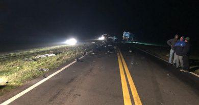 Tres personas murieron en choque frontal ocurrido en Ruta 51, entre Azul y Tapalqué