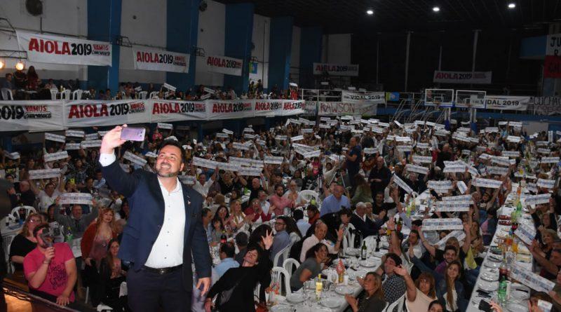 Gran cierre de campaña de Aiola
