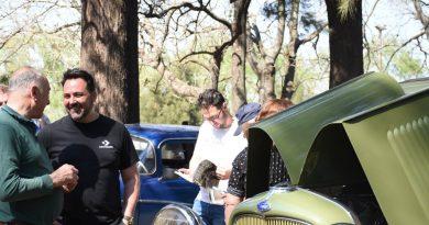 Aiola en el encuentro multimarcas en el Parque Recreativo