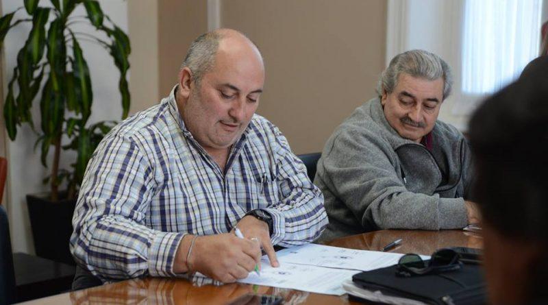 Olivetto y Fadel, del STM cuando rechazaban la oferta del Ejecutivo Municipal