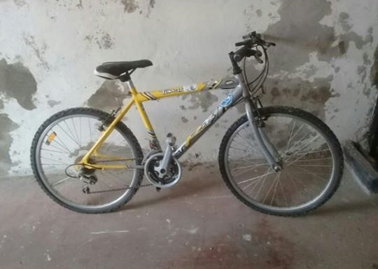 Imagen de la bicicleta robada en Castilla