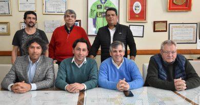 """Visita de empresarios de la zona de """"Vaca Muerta"""" interesados en radicarse en Chivilcoy"""