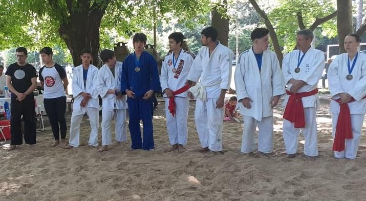 Nicolás Cardascia campeón argentino de Sumo Okinawense